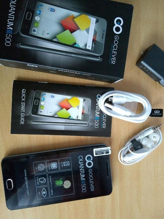 quantum 3 500 NOWY smartfon goclever