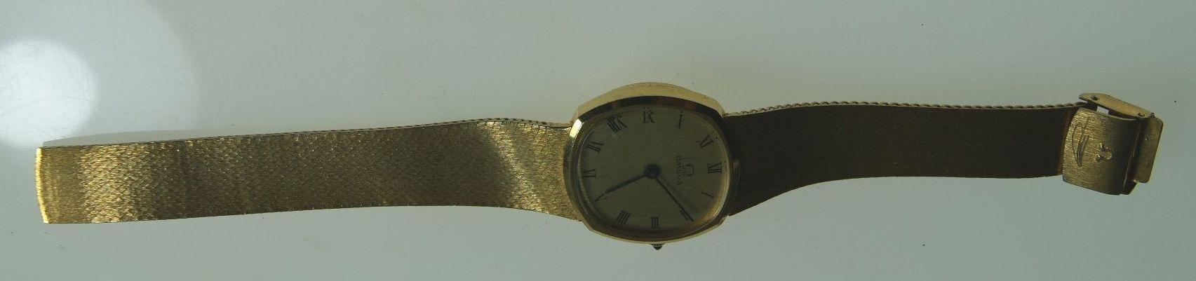 Zegarek Omega - uszkodzony