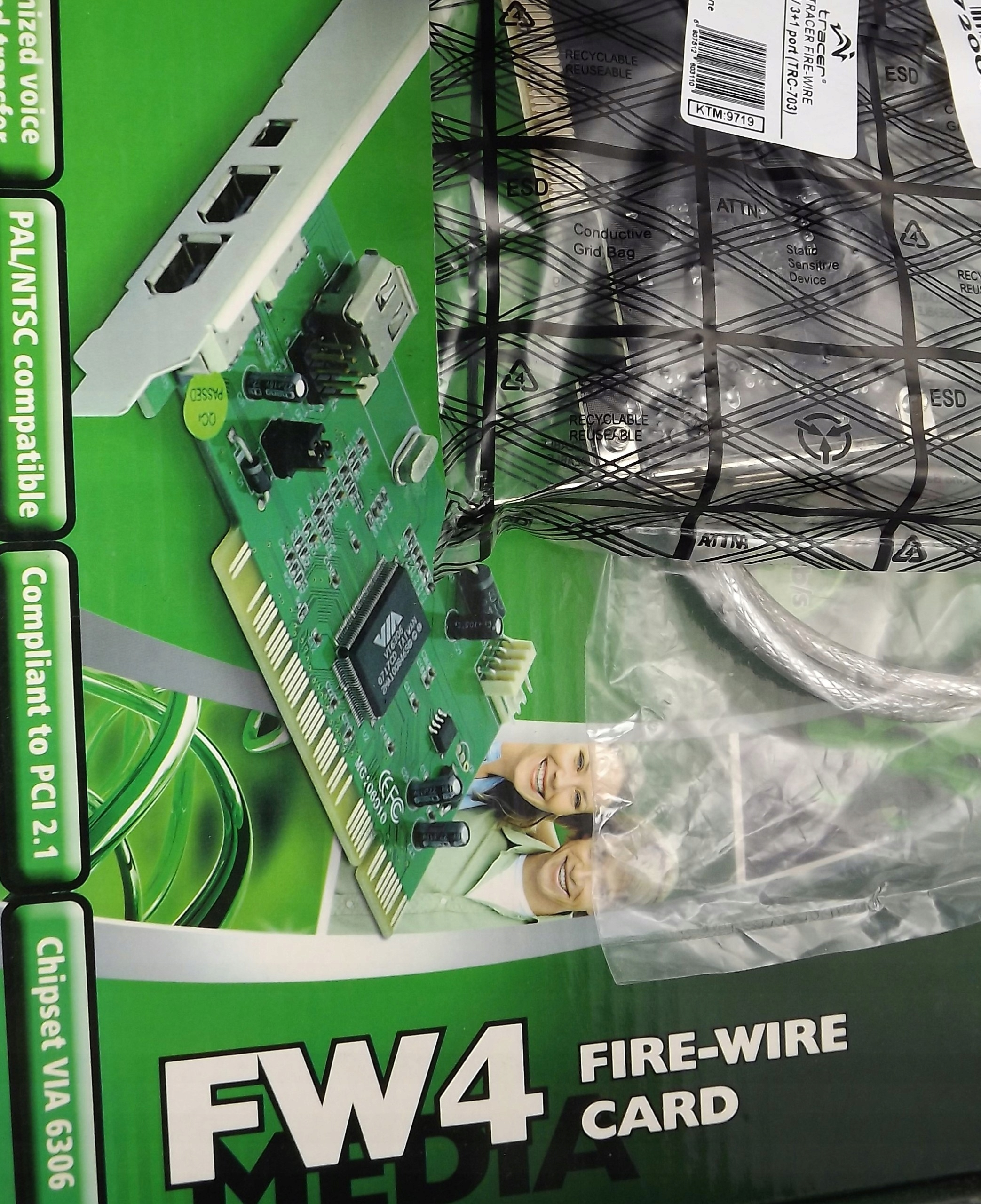Tracer Karta Fire Wire 1394 Do Pc 7423866373 Oficjalne Archiwum