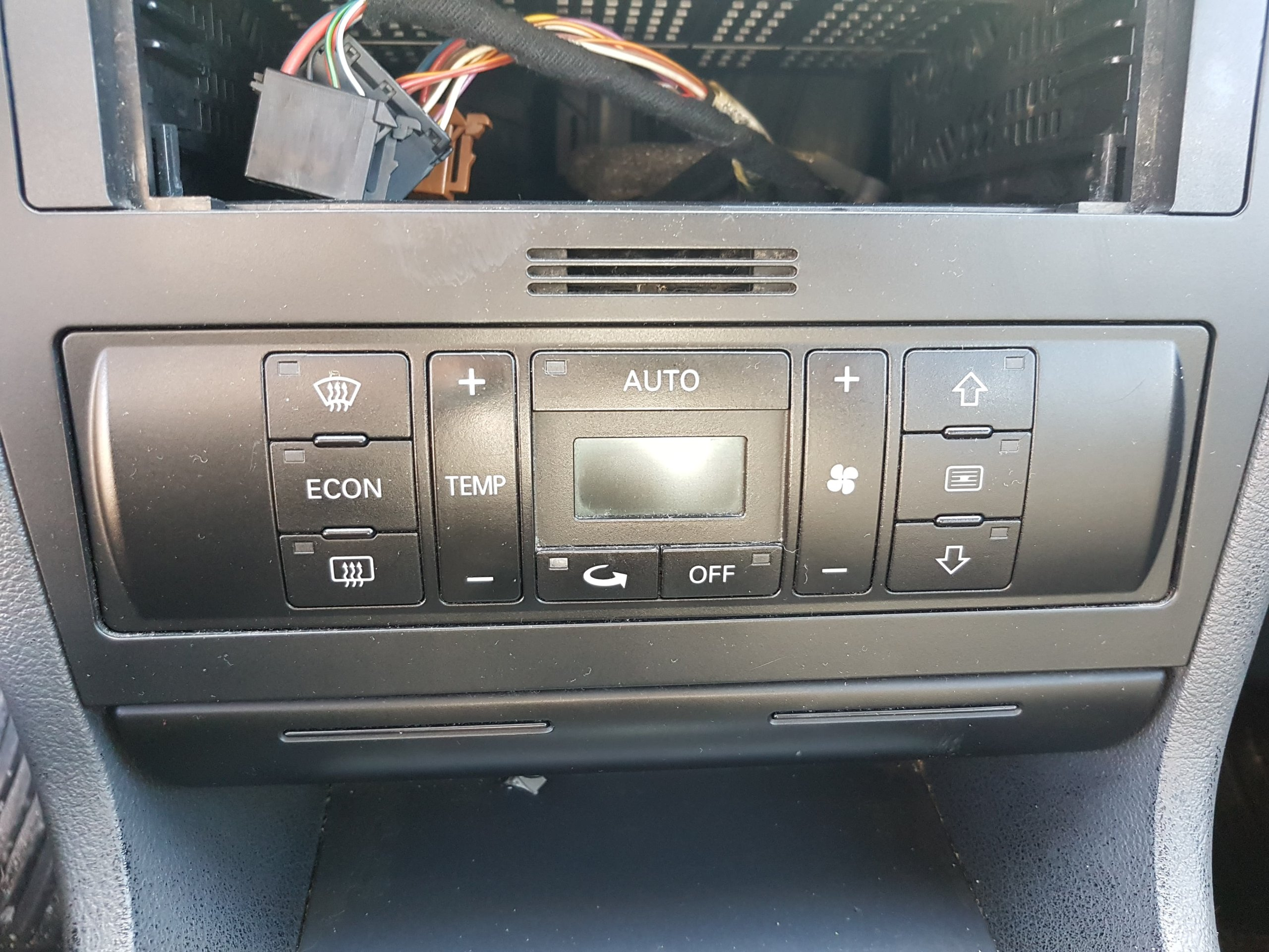 Panel Nawiewu Klimatronik Audi A4 B5 Lift 99 01 7233184354