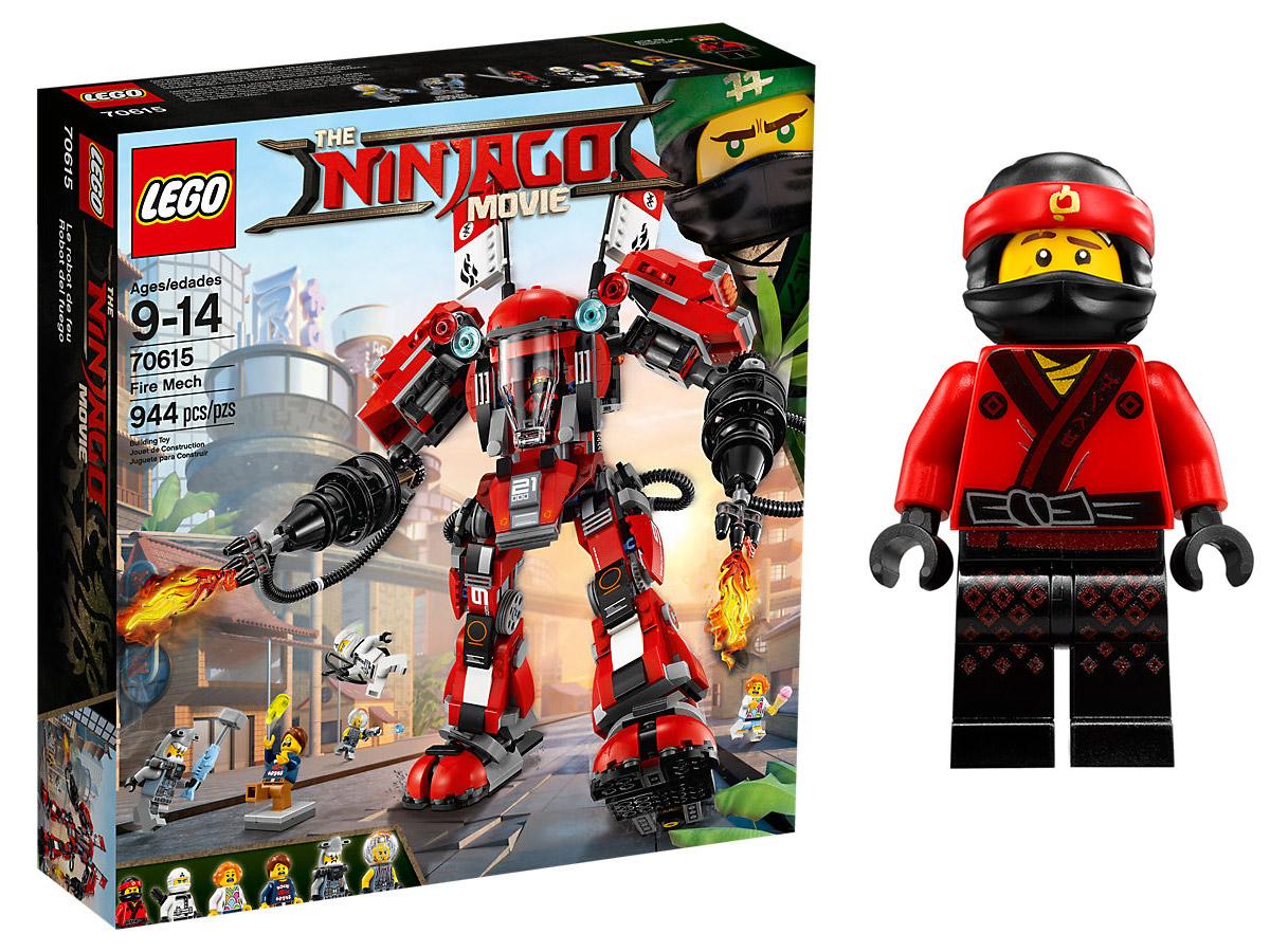 Lego Ninjago Movie Klocki Ognisty Robot 70615 Wawa 6946460507