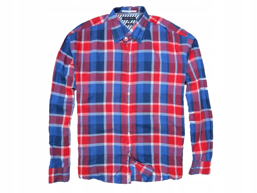 76836c4d533f9 TOMMY HILFIGER koszula kratka krata premium XXL - 7675278637 ...