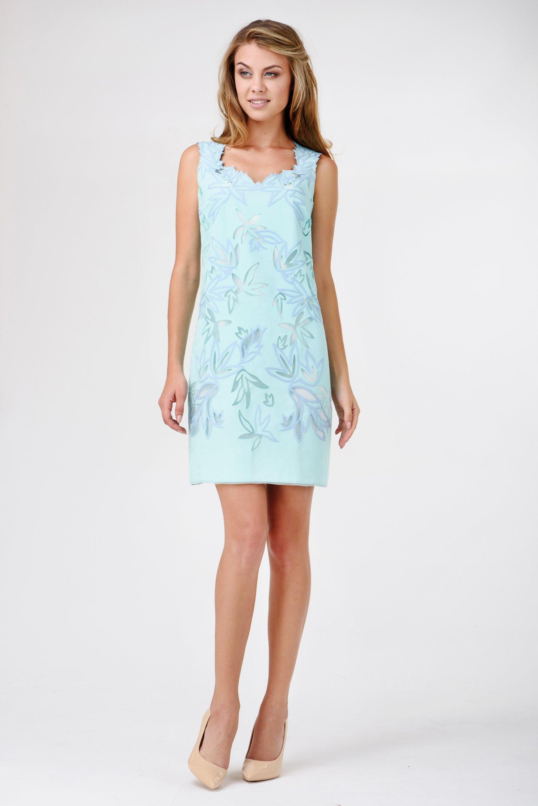 d0e79c3281 Sukienki na wesele  wieczorowe w kwiaty błękitna L - 7387369532 ...