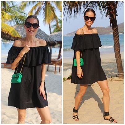 8f3a851500 H M czarna sukienka hiszpanka r 44 NOWA XXL - 7150832149 - oficjalne ...