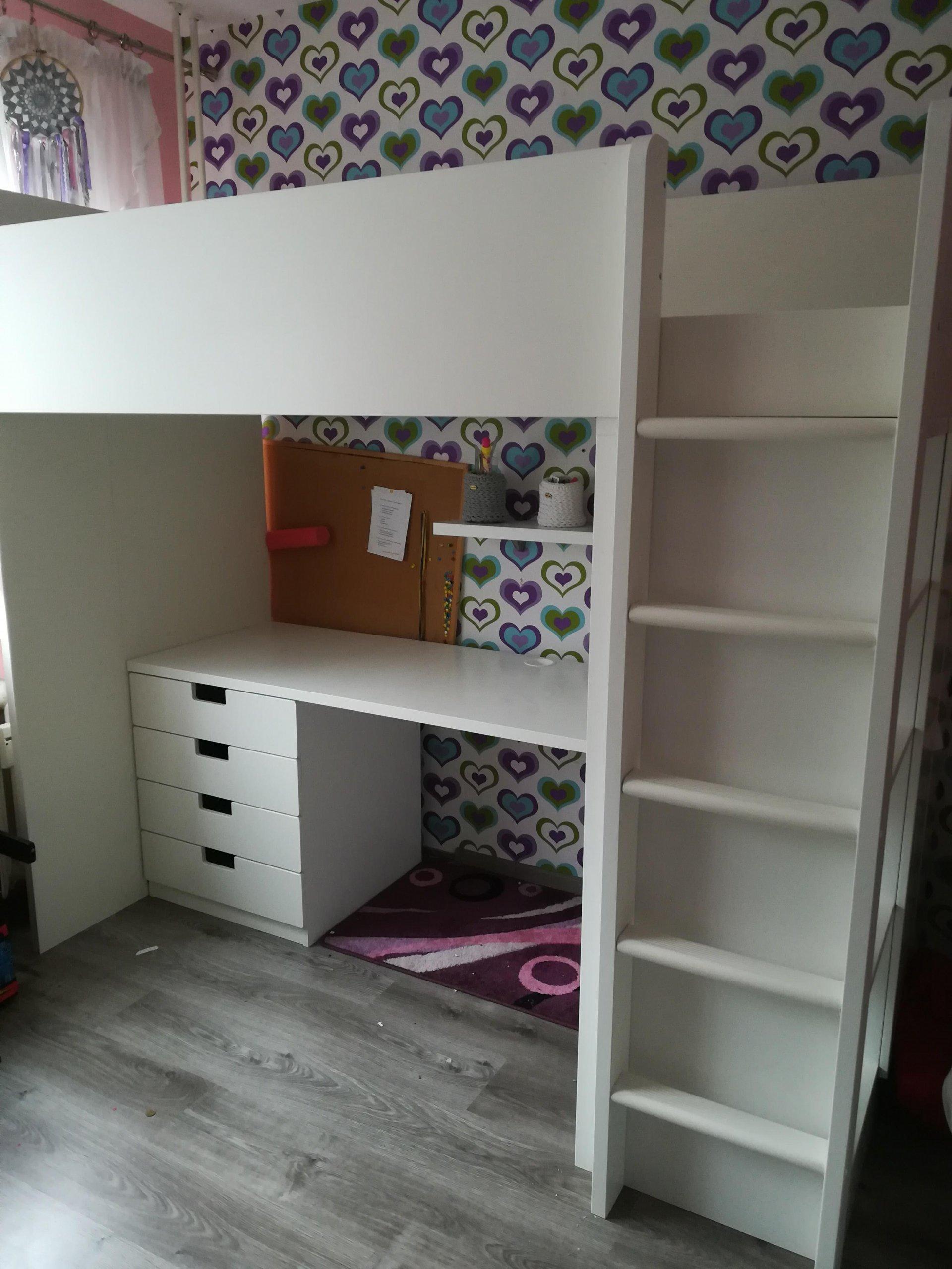 Ikea łóżko Piętrowe Z Biurkiem 7230891303 Oficjalne Archiwum Allegro