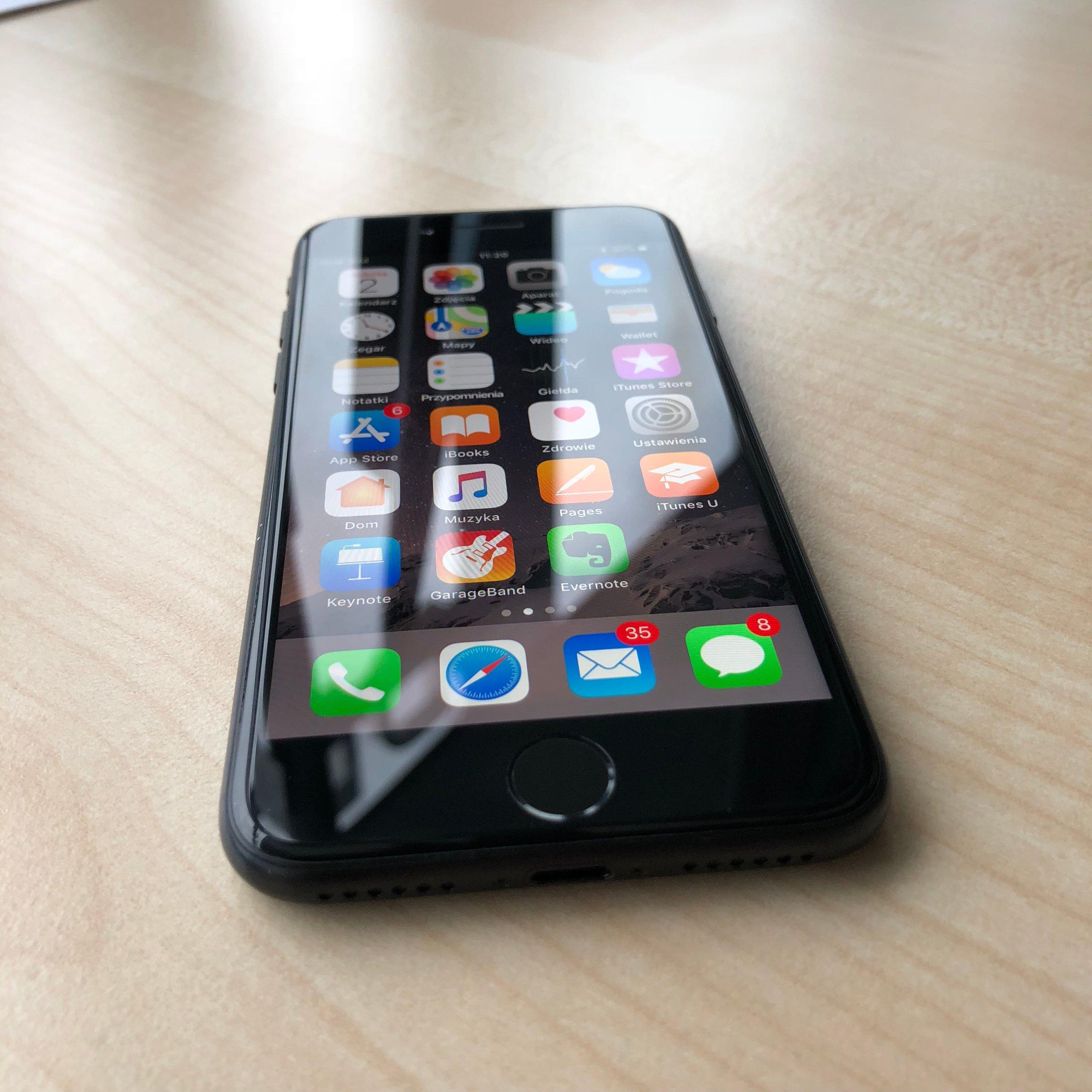 Iphone 7 128gb Jet Black Jak Nowy 7085317034 Oficjalne