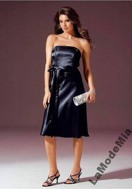 370927f894 LAURA SCOTT Czarna sukienka satyna r.36 (38) - 7071743237 ...