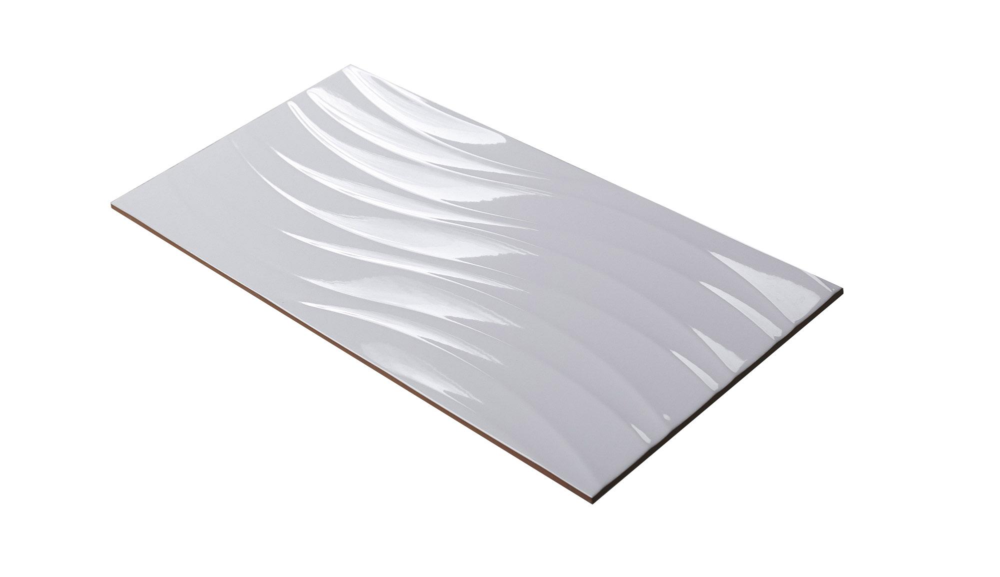 Płytki ścienne Kuchenne łazienkowe 3d Fale 30x60