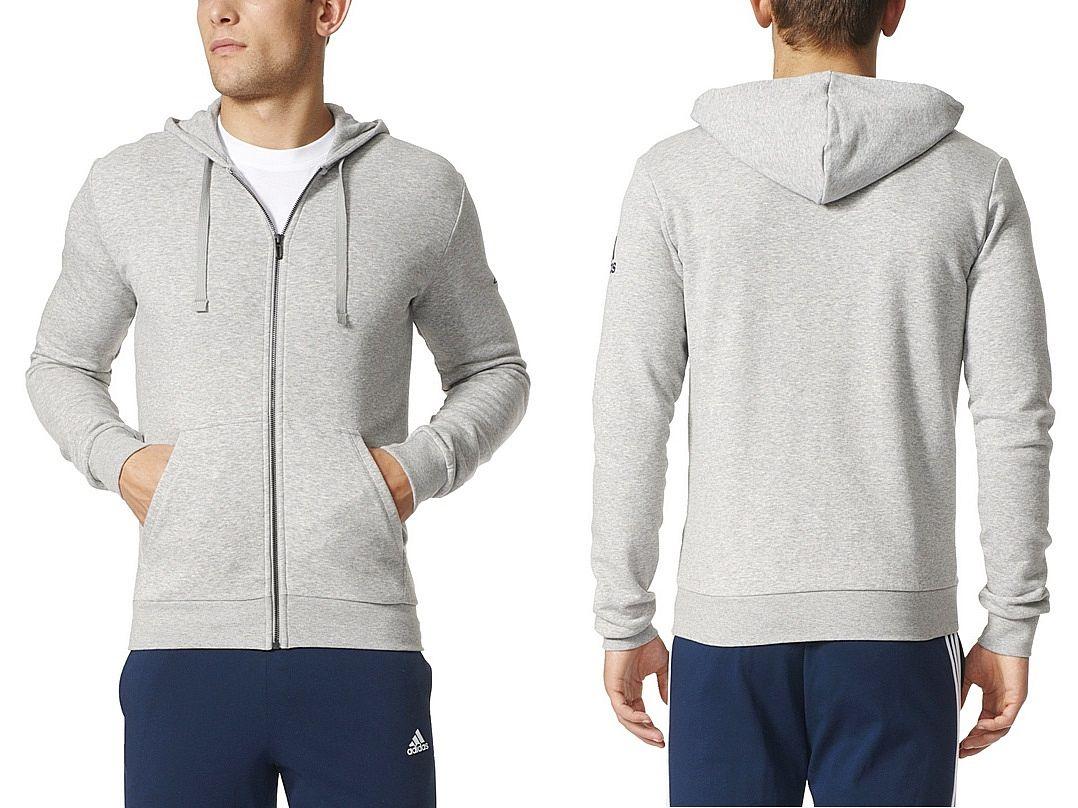 2bf505630 Adidas Bluza ESSENTIALS BASE FULL-ZIP (M) Męska - 6727240030 ...