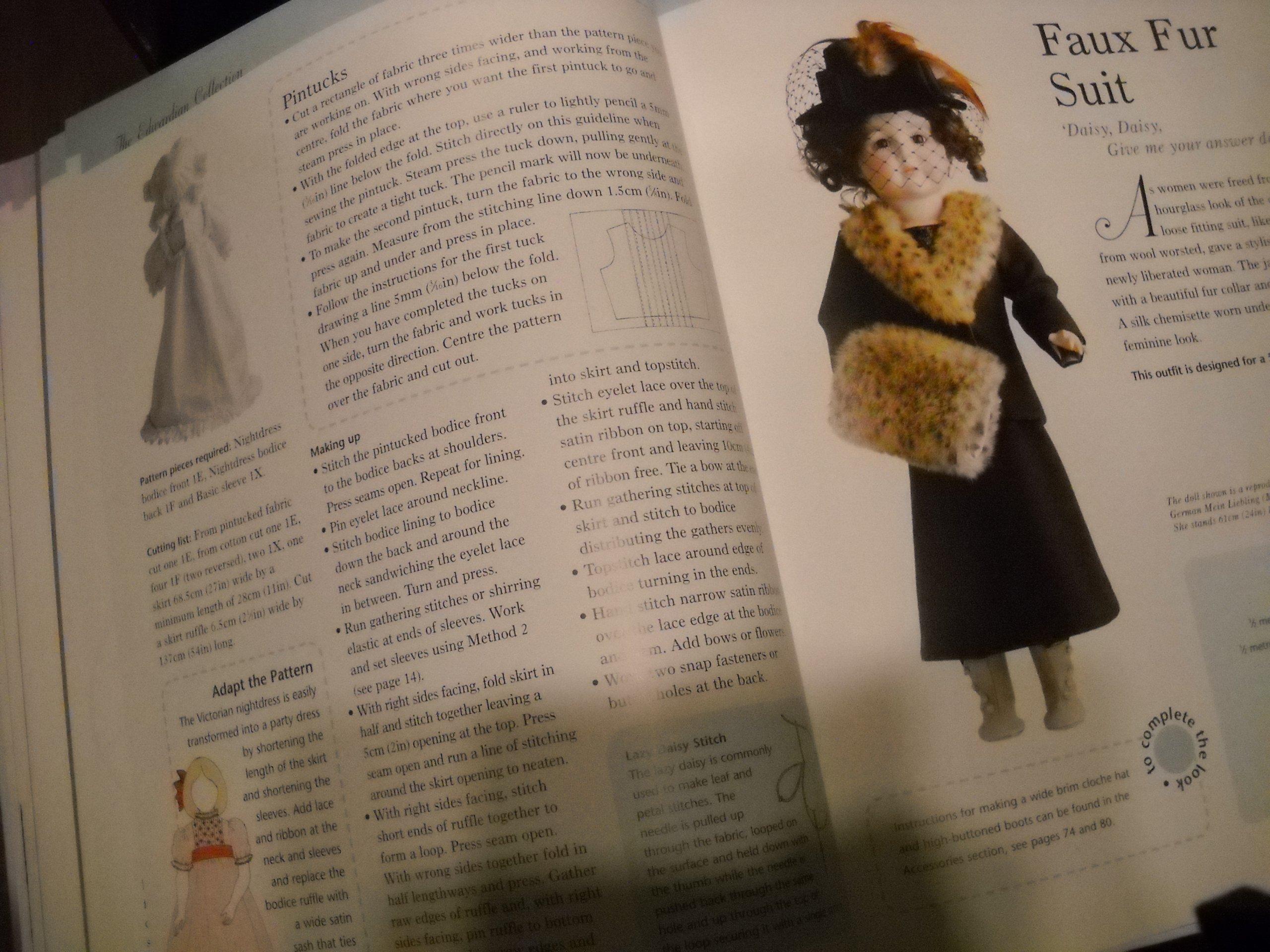 Wykroje  dla LALEK stylowe  suknie  z epoki TILDA