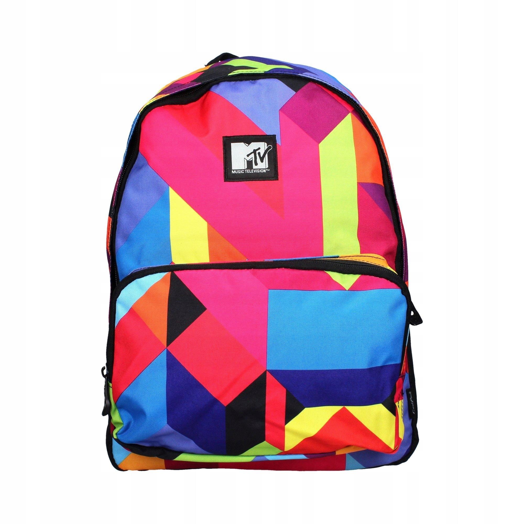031d205b0fd51 Plecak szkolny młodzieżowy MTV Colors mały 55000CP - 7458218775 ...