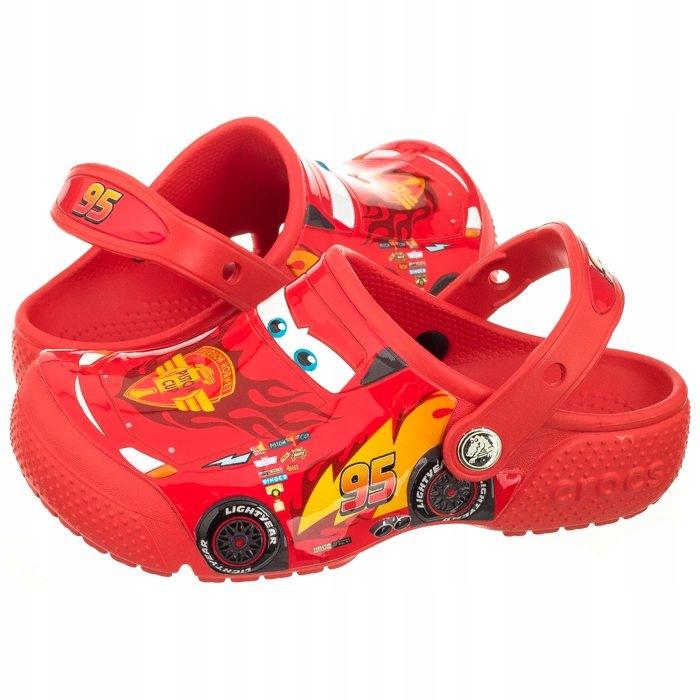 świetne oferty sprzedawca detaliczny oferować rabaty Klapki dla Dzieci Crocs Fun Lab Cars Clog Zygzak ...