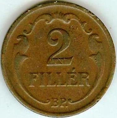 WĘGRY - 2 FILLER 1938 - bardzo ładne !!!
