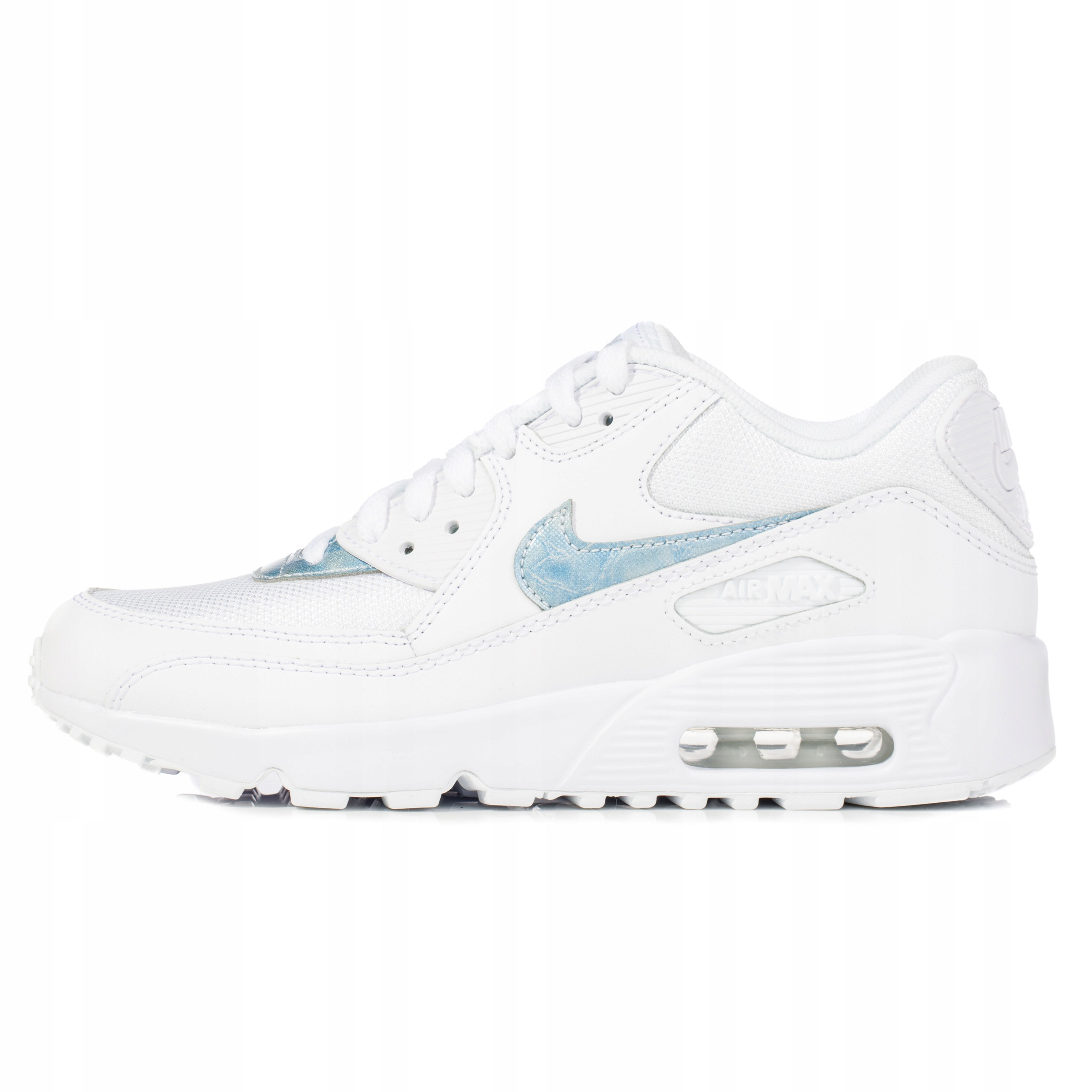 Buty damskie Nike Air Max 90 białe 833418 111 7369771628