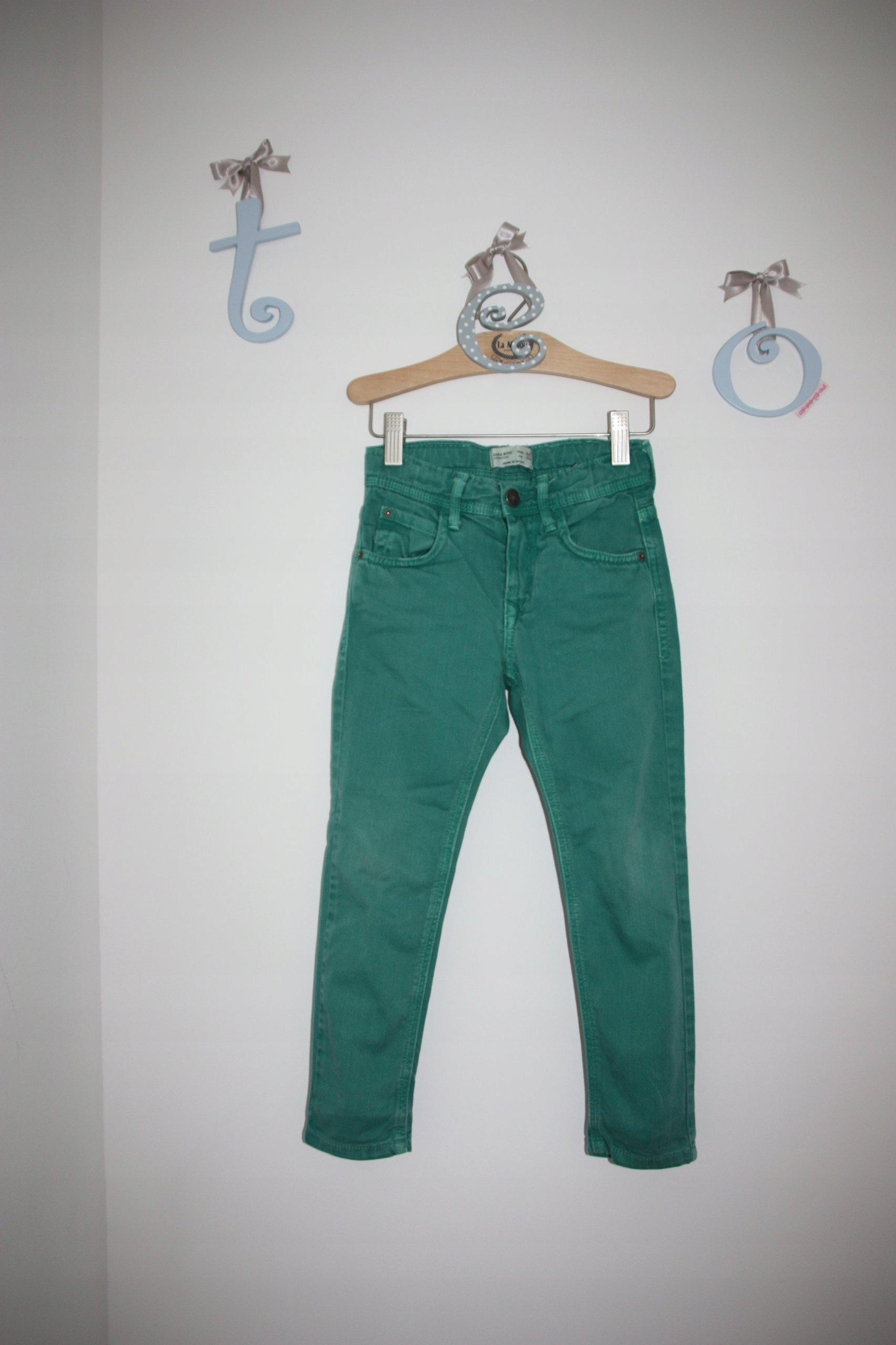 14c887c0da3a Spodnie rurki Zara rozmiar 110 na 4 5 lat - 7582409469 - oficjalne ...