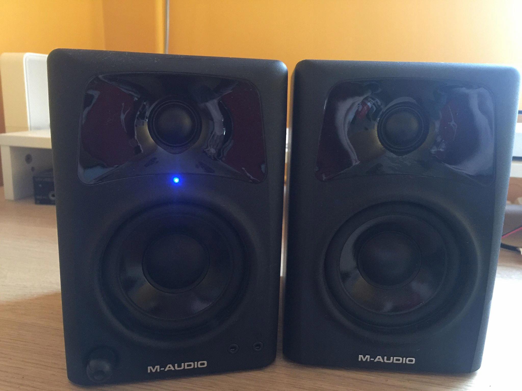 M-Audio AV 32 monitory studyjne jak nowe