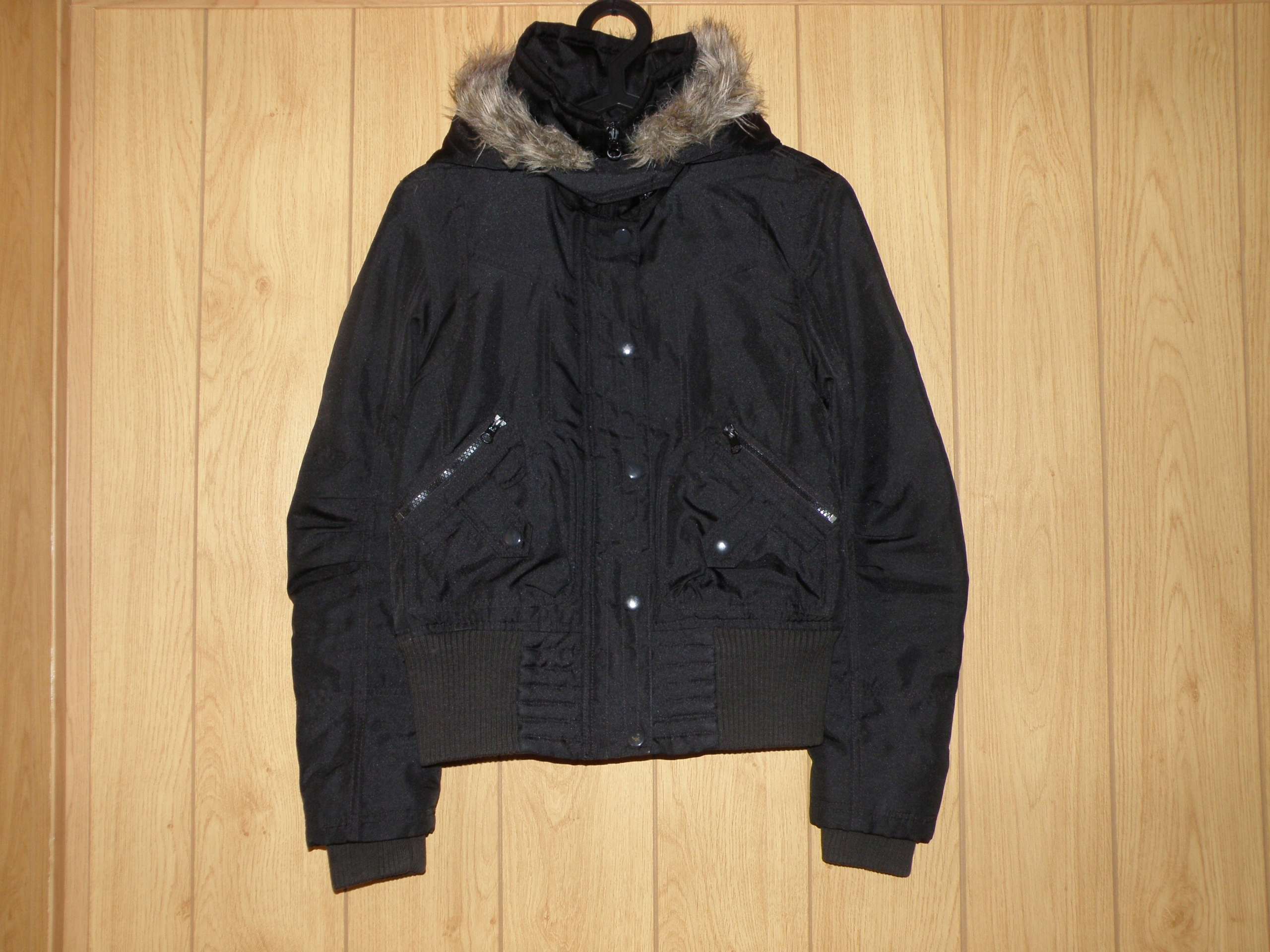 56bbc5448c Czarna kurtka VERO MODA rozmiar S ( 36 ) - 7560595258 - oficjalne ...