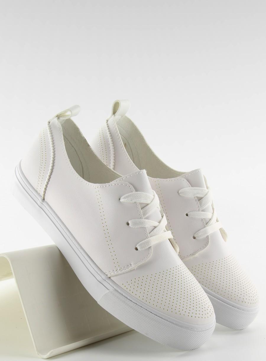 Trampki na grubej podeszwie WHITE 37 pantofle 6927932806