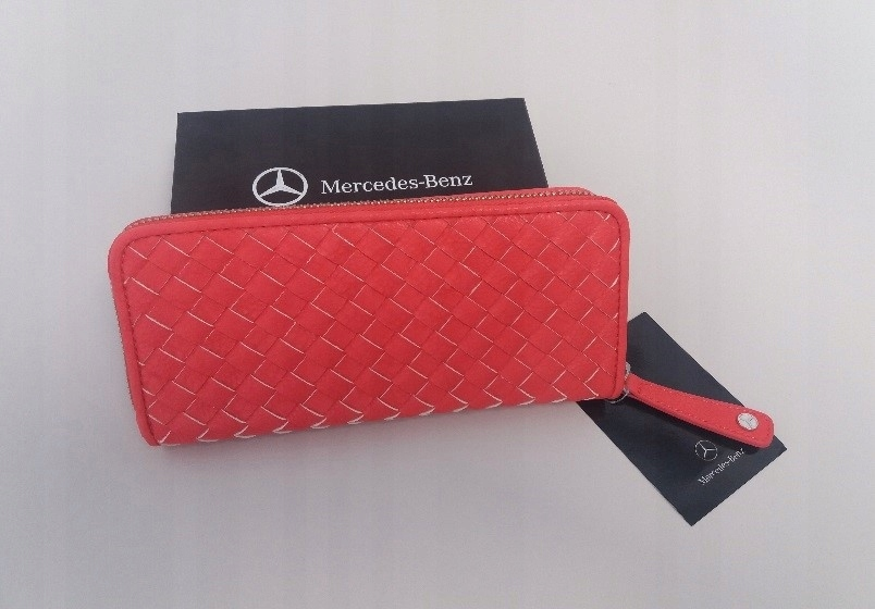 0fb20ee3c425f Portfel koralowy Mercedes-Benz kolekcja włoska - 7582135557 ...
