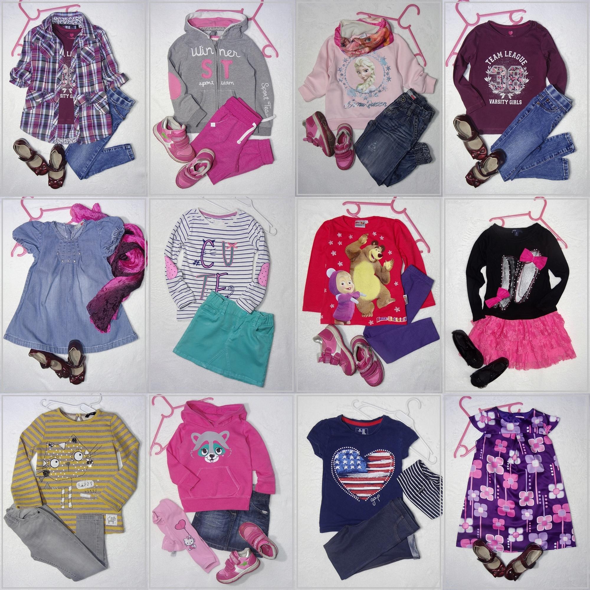 03e0bd677ebd49 98-104-110 MEGA zestaw dla dziewczynki NOWE 60 szt - 7708749096 ...