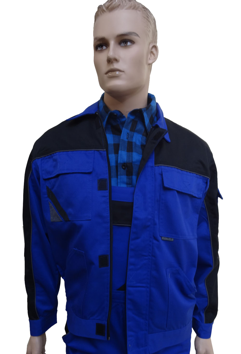 34e44bcb Bluza robocza PROFESSIONAL niebieska60/188/114-118 - 6830808700 ...