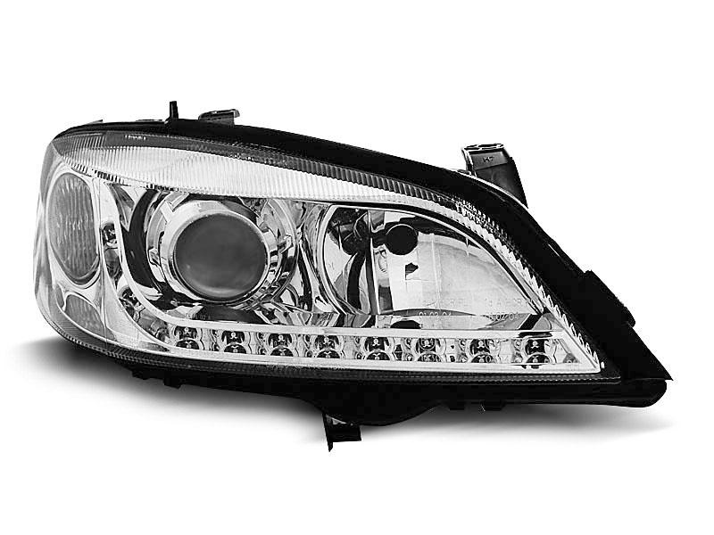 Lampy Przednie Opel Astra G Led Chrom Diodowe Depo