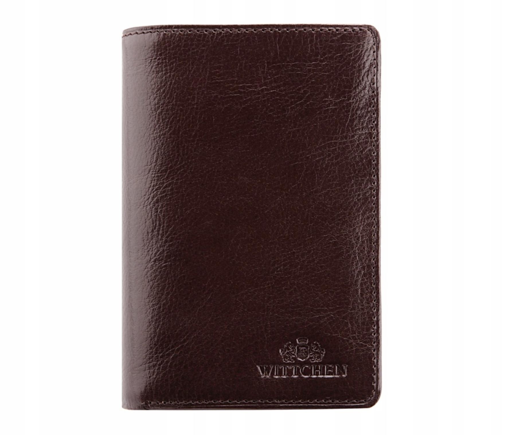 f19a55c040e3d WITTCHEN portfel męski SKÓRA 21-1-008-4 GRAWER RR - 7675454648 ...