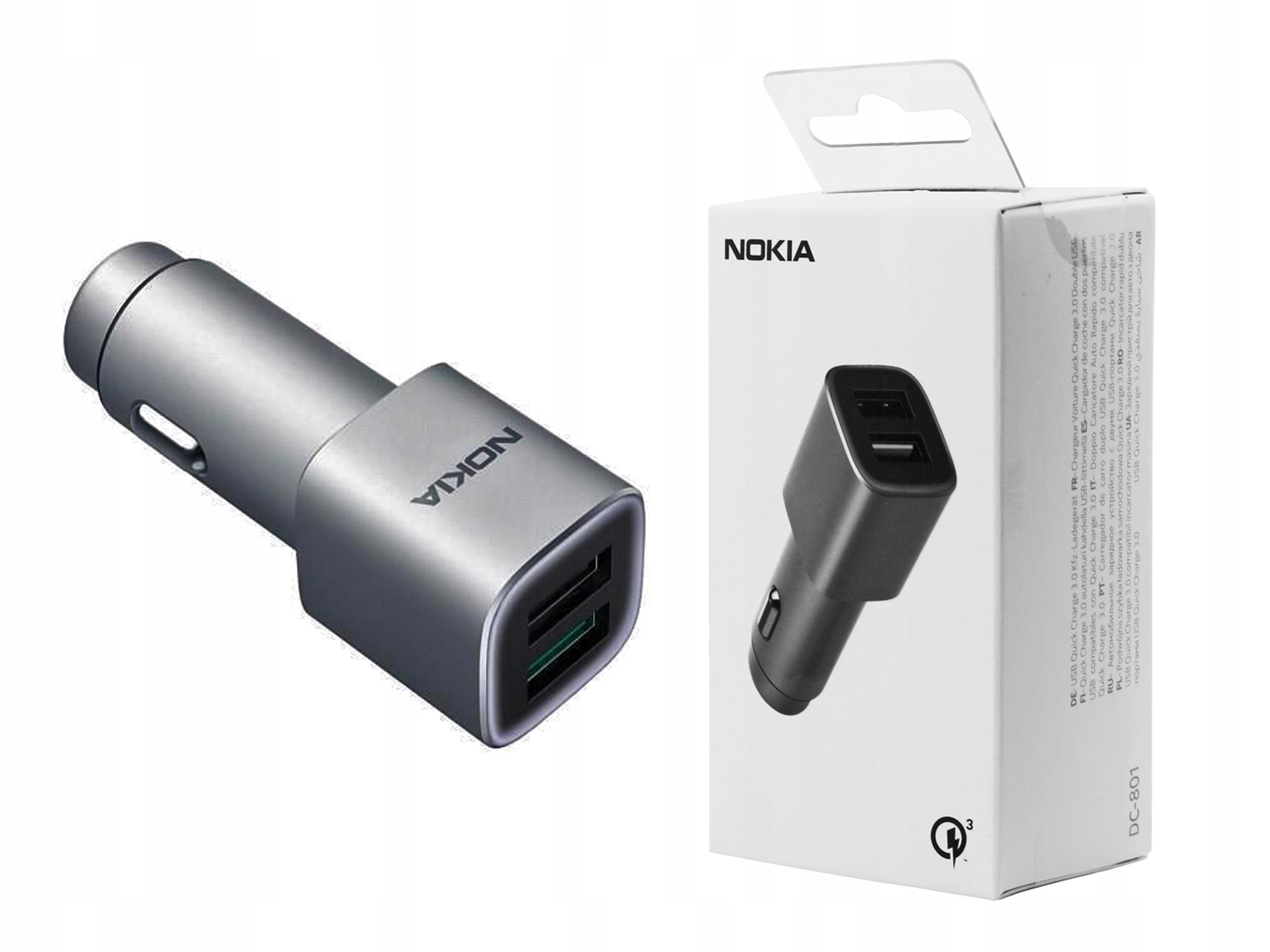 Lumia 430 435 | Ładowarka samochodowa Nokia QC 3.0