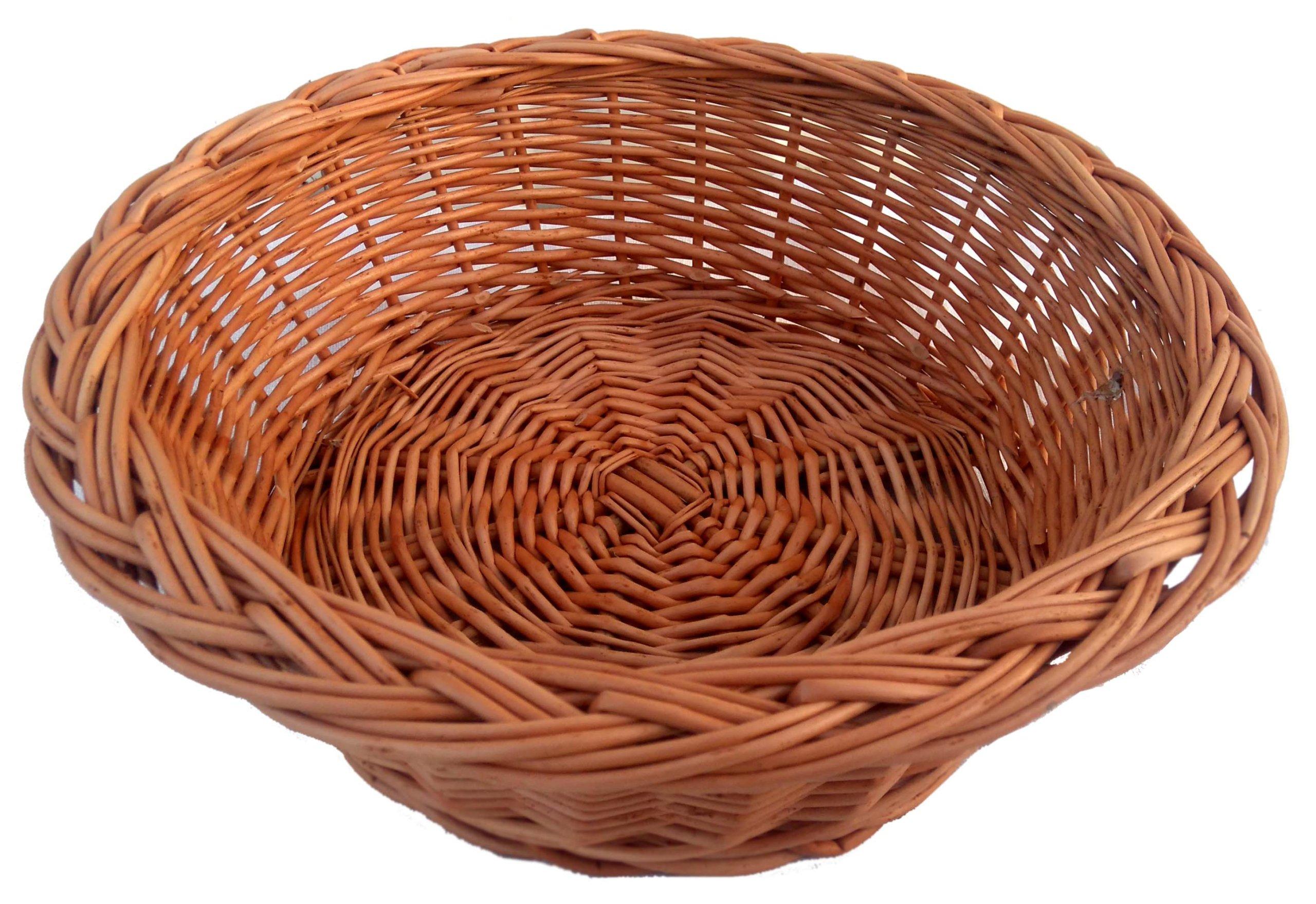 TACA, TACKA Z WIKLINY, wiklinowa (28 cm) koszyczek
