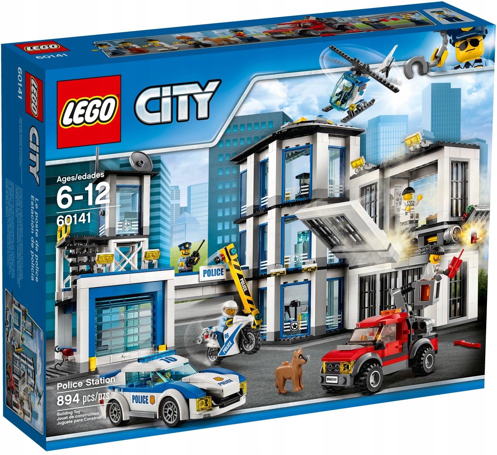 Lego City 60141 Posterunek Policji 7152288139 Oficjalne Archiwum