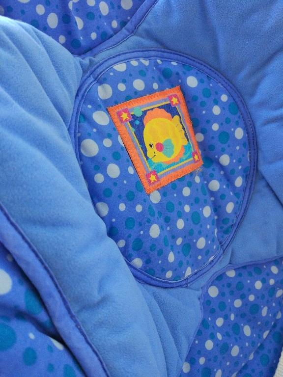 Bujaczek Fisher price aquarium cradle swing - 7513502258