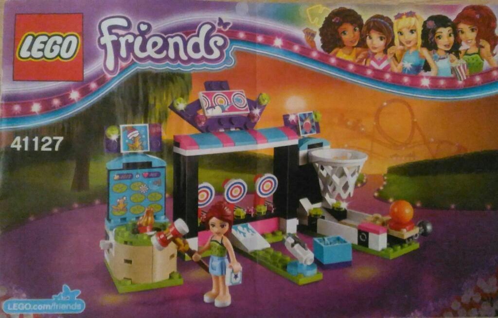 Lego Friends Automaty W Parku Rozrywki 41127 7686038332