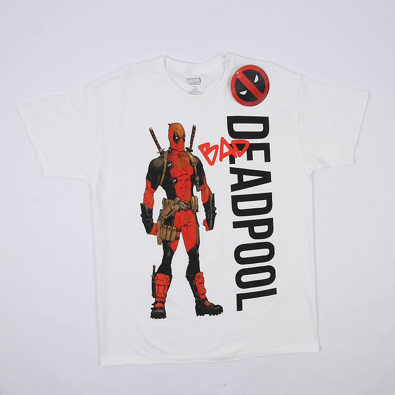 890bd89b2 ... KOSZULKA DEADPOOL MARVEL M-XXL 17 WZORÓW!! T-shirt męski Marvel Deadpool  XL BCM!