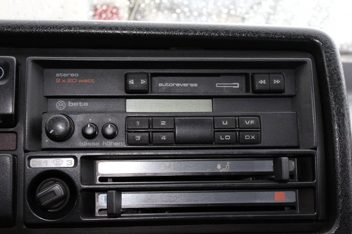 radio beta vw golf ii 1983 1992 3d 7088430977. Black Bedroom Furniture Sets. Home Design Ideas