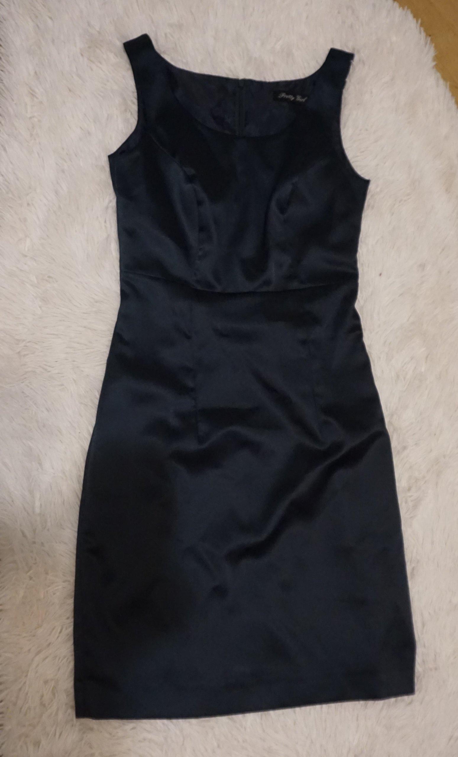 6e06b90397 Sukienka Pretty Girl ołówkowa klasyczna 34 XS - 7252375627 ...
