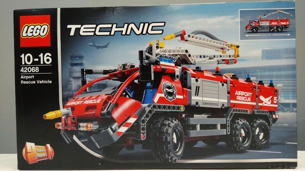 Lego Technic 42068 Wóz Strażacki 7759474560 Oficjalne Archiwum