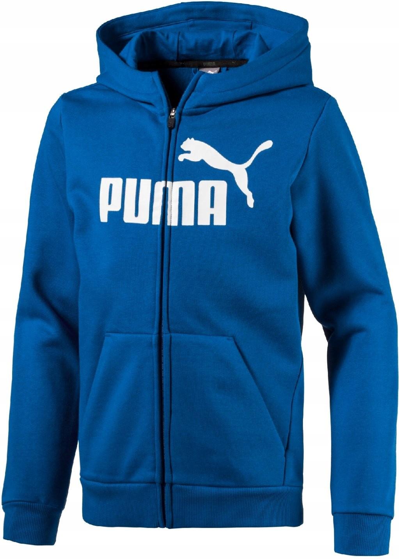 dobry szybka dostawa kupować Bluza Puma rozpinana z kapturem 134/140 cm - 7398461014 ...