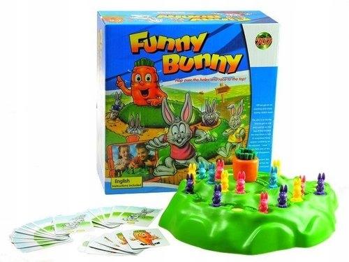 Funny Bunny Gra rodzinna - Lean Toys