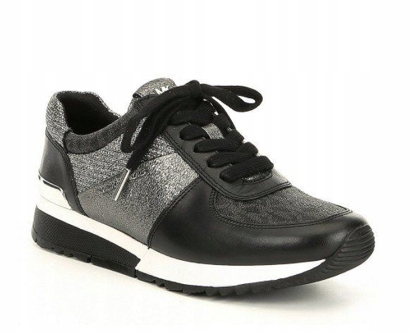 ee8d61da38250 MICHAEL KORS buty sportowe sneakers ALLIE Trainer - 7668078916 ...