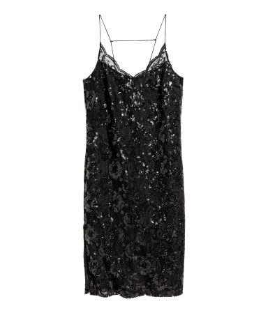 8a85d7fcd8 Sukienka z cekinami H M cekinowa 38 M F4 - 7503151414 - oficjalne ...