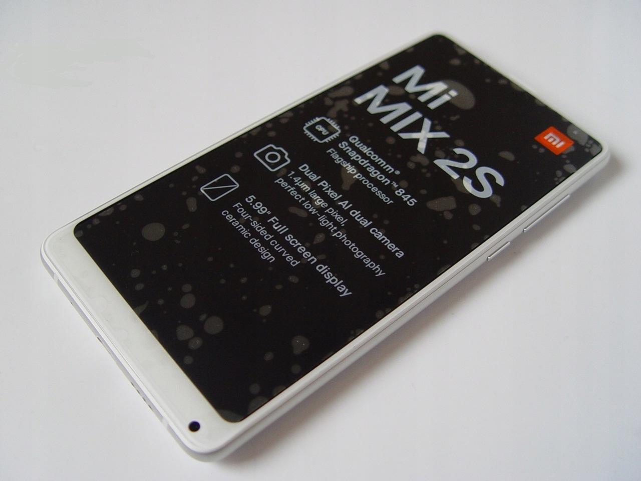 JAK NOWY! Xiaomi Mi Mix 2S 6/64 GWAR.PROD!