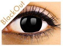 bf1ceef924e605 Soczewki kolor BLACK OUT CZARNE MINUSY - 5,25 - 7004623591 ...