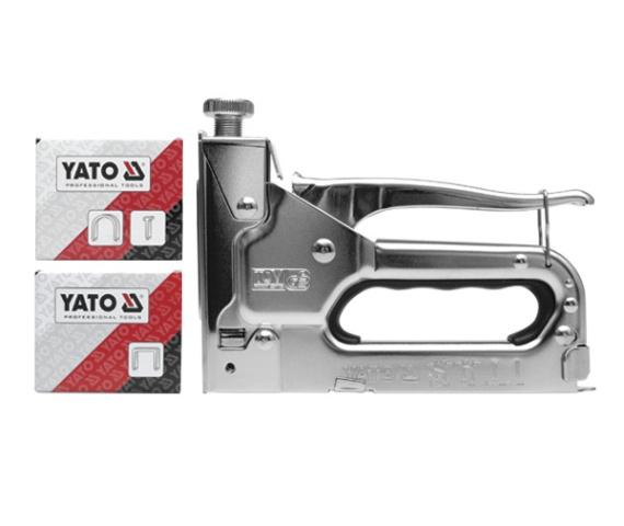 Zszywacz tapicerski 6-14mm YATO + ZSZYWKI