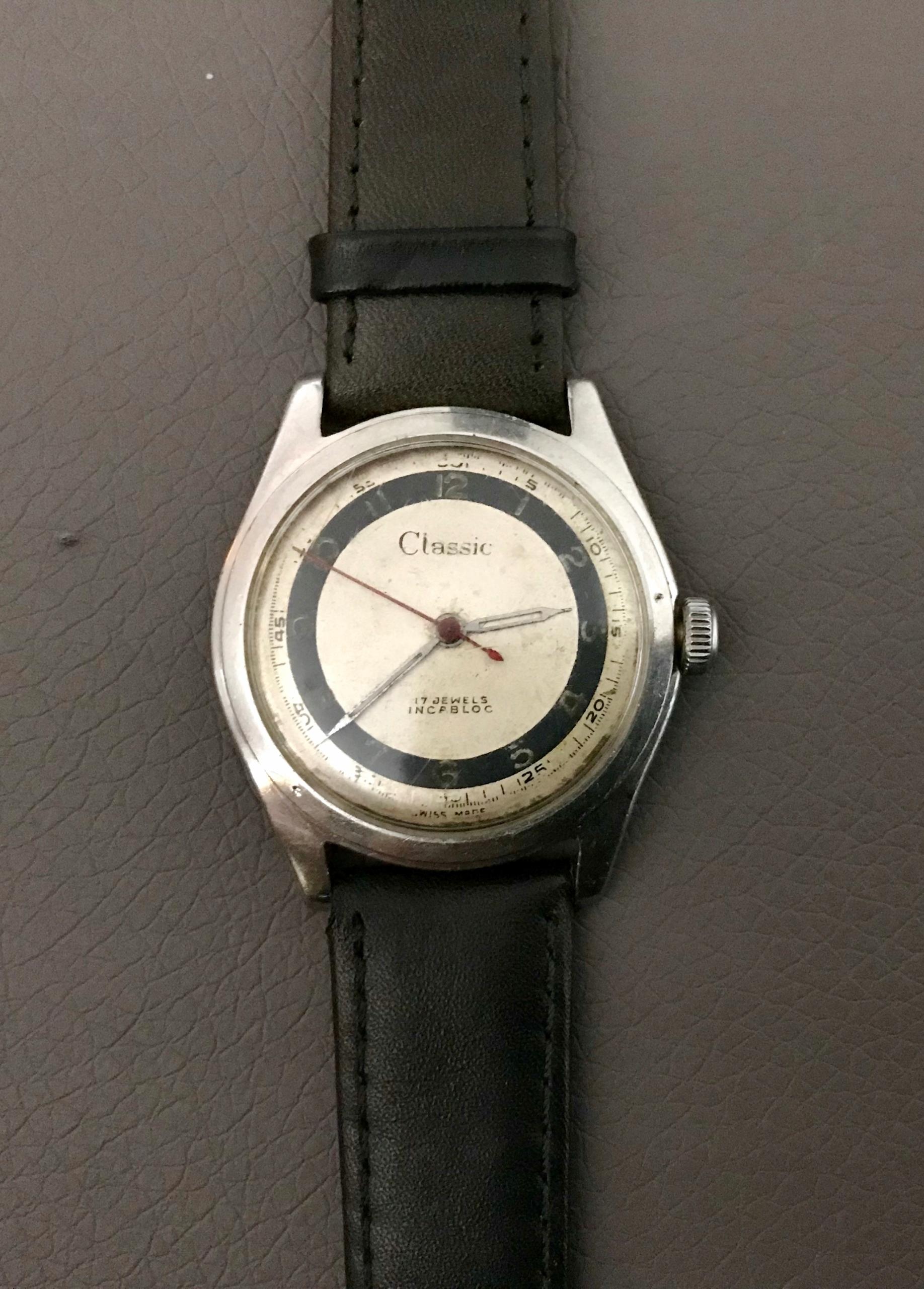 Piękny zegarek Classic Atlantic Swiss Made lata 40 - 7496137260 ... 75a7d0a562
