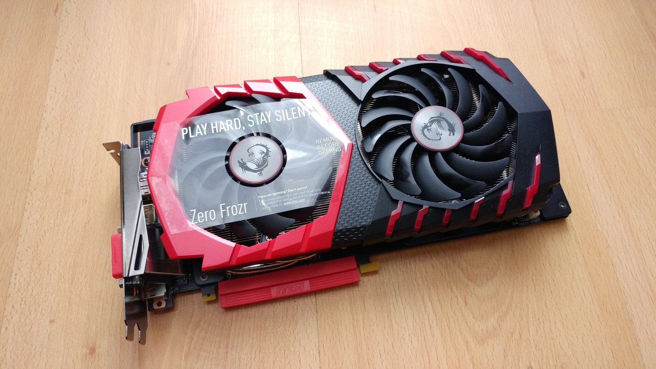 NVIDIA GEFORCE GTX 1060 3GB MSI GAMING X