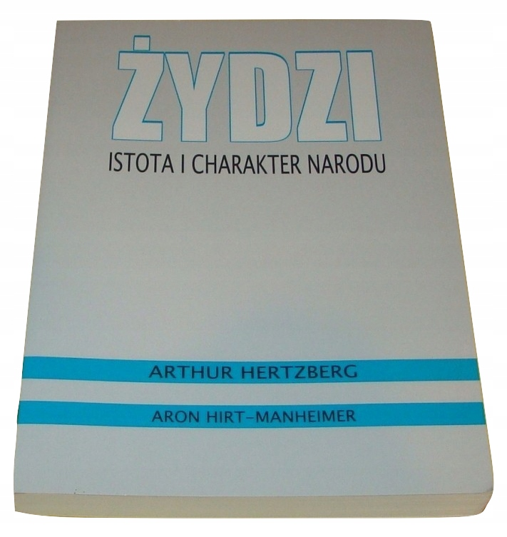 Żydzi Istota i charakter narodu Hertzberg /SRL