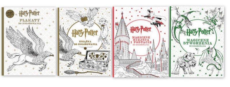 Harry Potter Kolorowanki I Plakaty Do Kolorowania