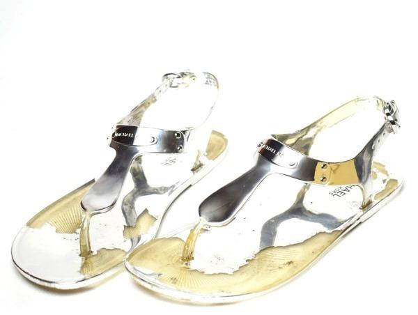 1b72ac06cb17f Michael Kors MK Jelly Plate KLAPKI Japonki 40 - 7040103443 ...