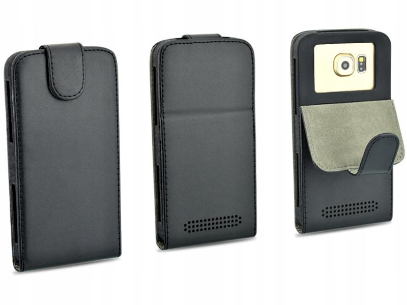 Etui czarne do telefonu Philips Xenium V526