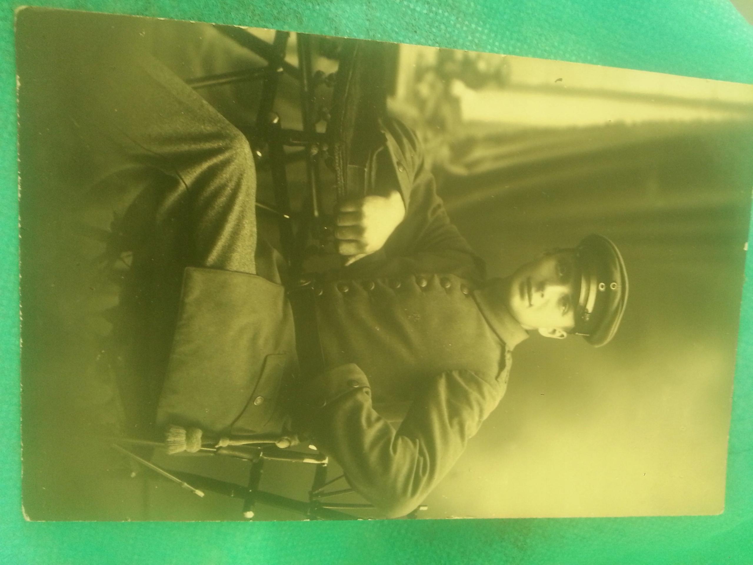 Zołnierz.Fot.Pińsk Bagnet